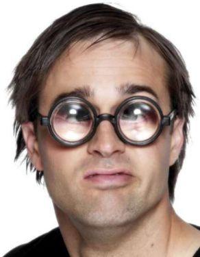 Joke Bug Eyed Nerd Glasses